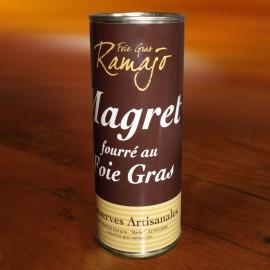 Magret de canard fourré au foie gras 400 g