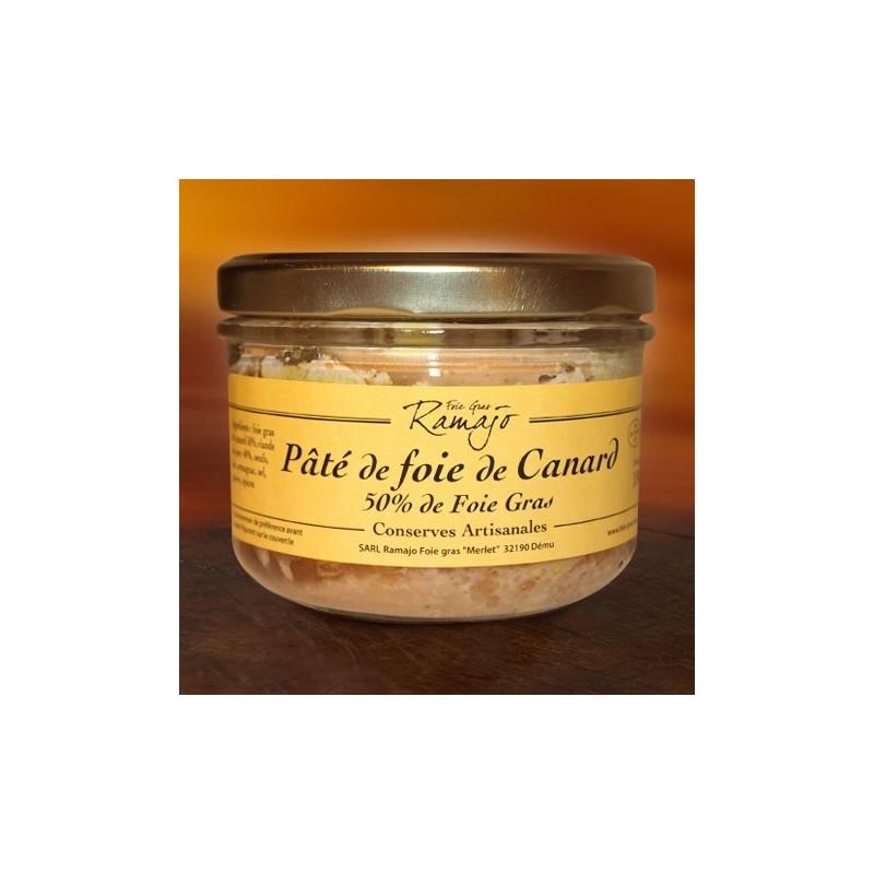Pâté de foie de canard, 50% de foie gras
