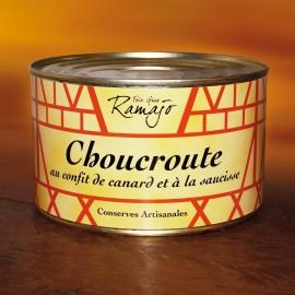 Choucroute au confit de canard
