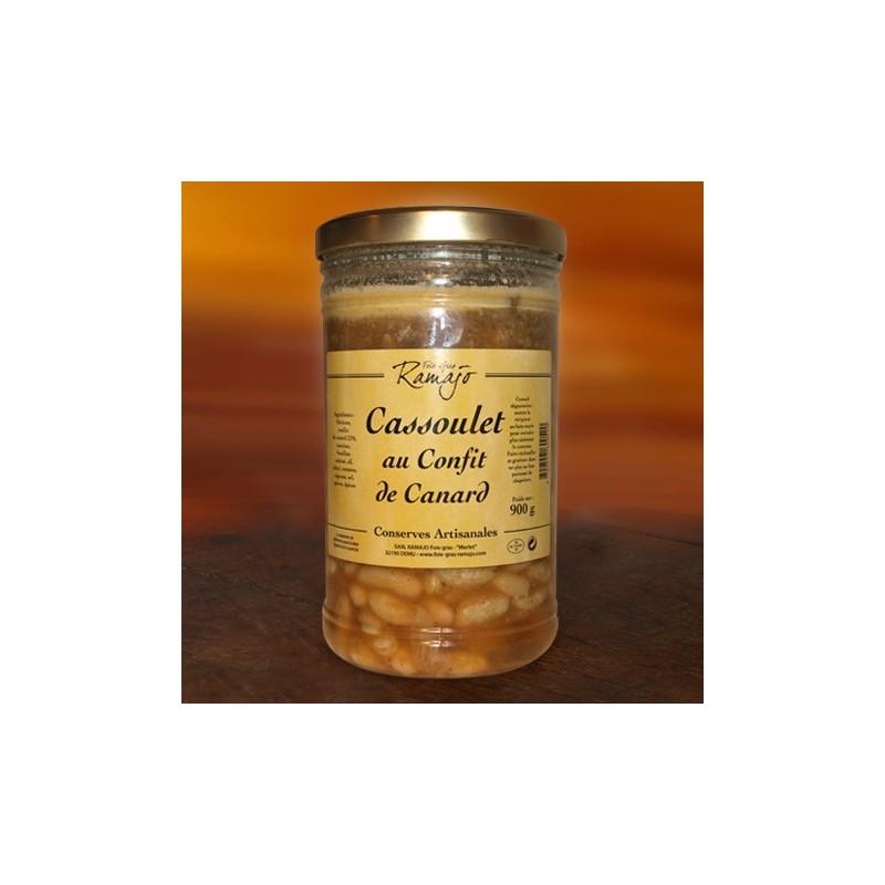 Cassoulet au confit de canard 900 g