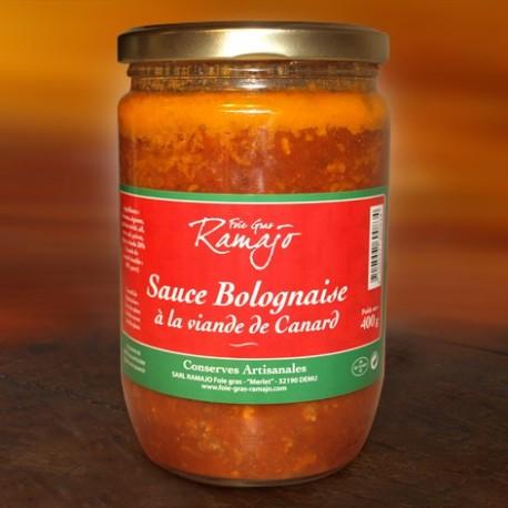 Sauce Bolognaise à la viande de Canard 550g