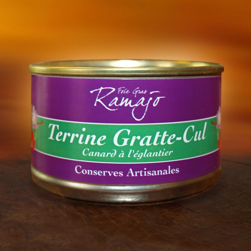 Terrine Gratte Cul (terrine de canard a l'églantier)  120 g