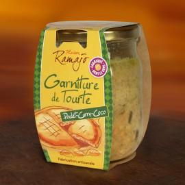 Garnitures de Tourtes Poulet Curry Coco