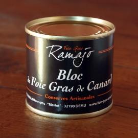 Bloc de foie gras de canard du Gers 95 g