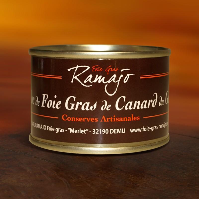 Bloc de foie gras de canard du Gers 70 g