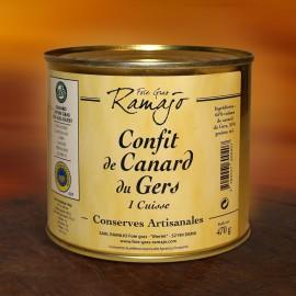 Confit de canard du Gers 1 cuisse 470g