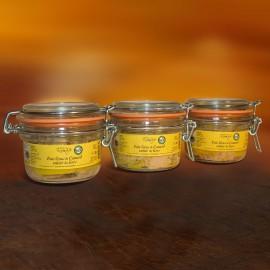 Foie gras de canard entier du Gers  lot de 3 x 120 g
