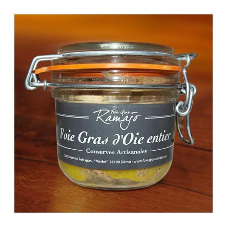 Foie gras d'oie entier 180 g