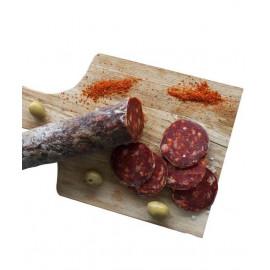 Chorizo issu du porc du Sud Ouest IGP