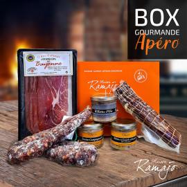 la box gourmande Apéro - Maison Ramajo