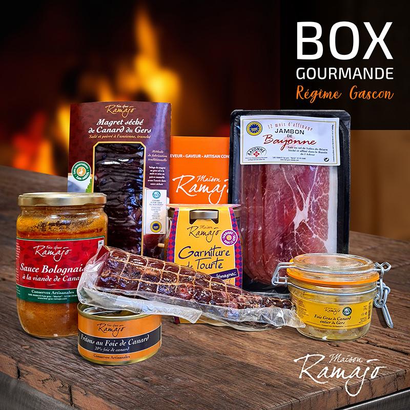 Box gourmande le régime gascon - Maison Ramajo