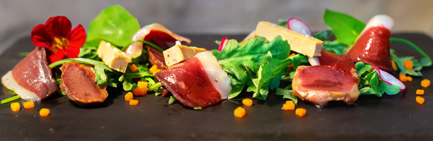 Spécialité pour salade gascogne et entrée gourmande