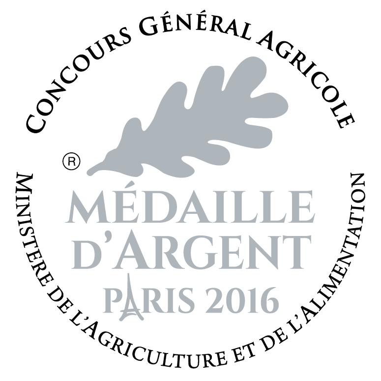 Médaille d'Argent Paris 2016