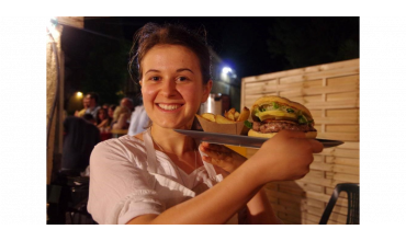 Hamburger au magret et au foie gras de canard façon Maison Ramajo